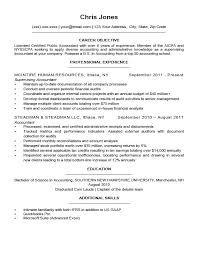 Resume Examples For Director Position Packed With To Prepare Perfect Objective Management 192