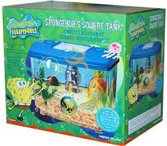Spongebob Aquarium Decorating Kit by Spongebob Square Pants Aquarium Kit Amazon Co Uk Toys U0026 Games