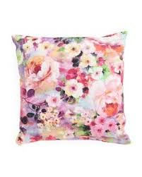 large florals pillow cover watercolor floral pillow cover