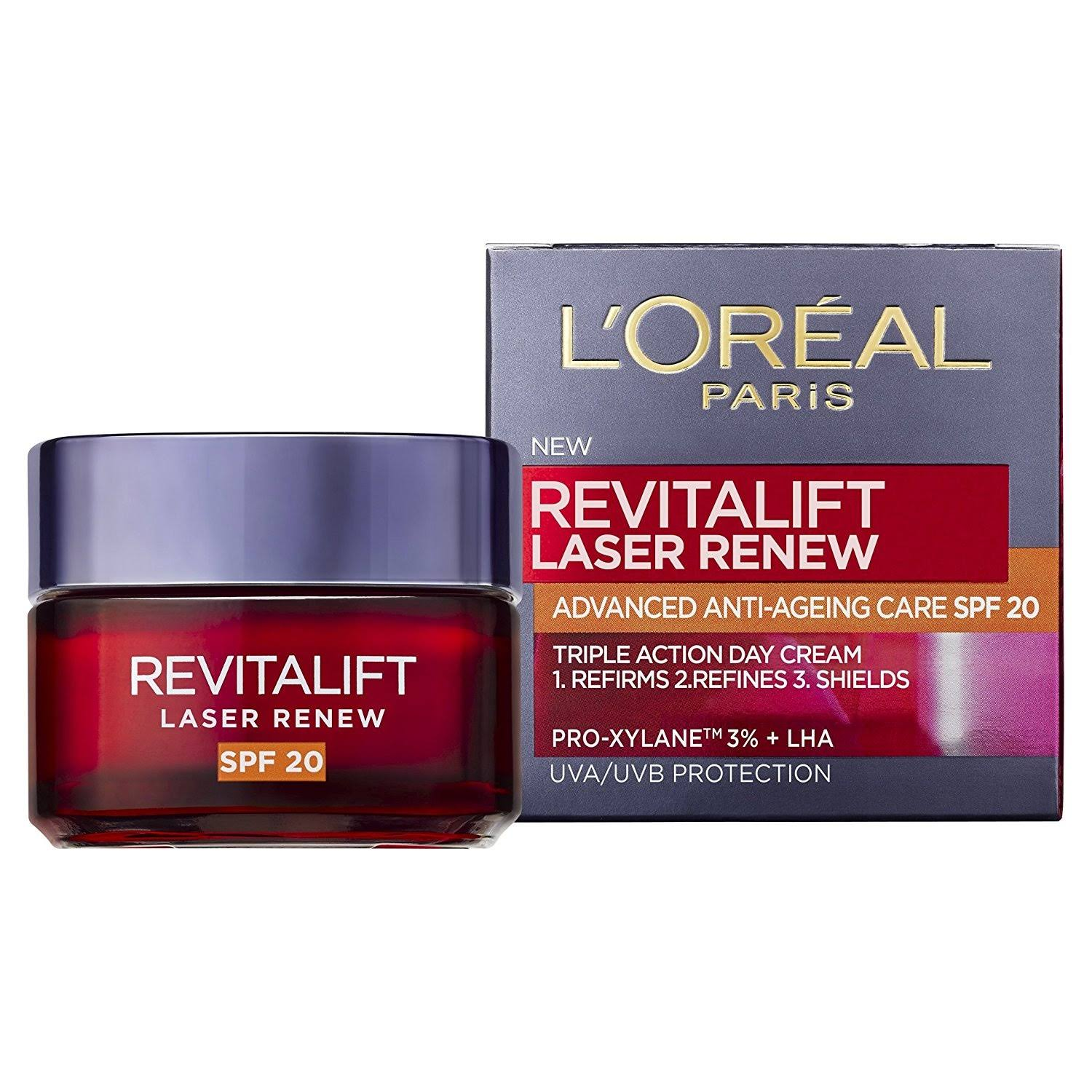 L'Oreal Paris Revitalift Laser Renew Anti-Ageing Cream - SPF20, 50ml