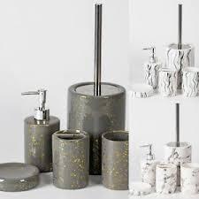 trendmax marmor badezimmer set luxus badezimmer accessoires