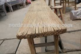 Out Door Buffet Table Chinese Antique Furniture Reclaimed Wood Old Pine Made Long Rustic