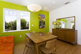 Mid Century Modern Dresser Dining Room Midcentury With Ashtray Atomic Avocade Buffet Hardwood Floors Large