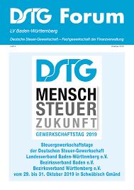 Dieter Knoll Kã Che Planen Steuergewerkschaftstage Der Deutschen Steuer Gewerkschaft