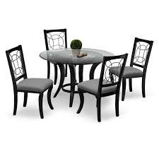 Pandora 5 Pc Dinette Value City Furniture Elegant Dining Room Sets