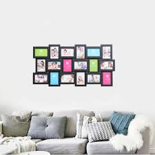 US 3052 40 OFF18 Photos Frame Wall Decoration Multi Pictures Frame Collage Aperture DIY Home Decor For Living Room Bedroom Wall Decals 90x47cmin
