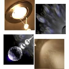 mini led strahler kristall modern chrom schlafzimmer