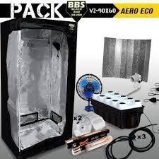 humidificateur chambre de culture pack chambre de culture complèteblack box v2 90x60 aero eco blackbox