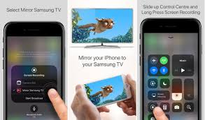 AirPlay your iPhone or iPad or screen directly to Samsung Smart TV