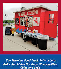 100 Lobster Truck Food Rolls Maine Seafood