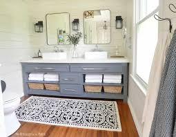 the modern farmhouse master bathroom reveal turning a