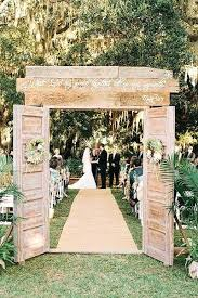 Exotic Country Wedding Decoration Nice Decorations Ideas Rustic Old Door Decor For