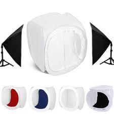 100 Studio Tent 30x30x30cm Portable Photo Photography Light Box Lighting Shooting Backdrop