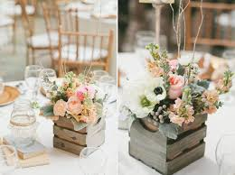 18 Non Mason Jar Rustic Wedding Centerpieces Youve Got To See