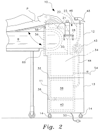 Mobile Self Contained Portable Electric Sink by Patent Us7469430 Portable Shampoo Sink Google Patents