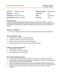 Teacher Resume Description | Resume Templates Design For Job Seeker ... Substitute Teacher Resume Samples Templates Visualcv Guide With A Sample 20 Examples Covetter Template Word Teachers Teaching Cover Lovely For Childcare Skills At Allbusinsmplates Example For Korean New Tutor 40 Fresh Elementary Professional Fine Artist Math Objective Format Unique English 32 Ideas All About