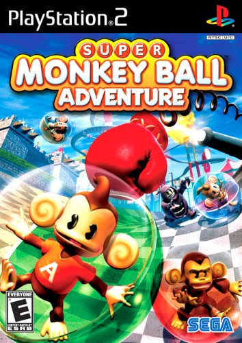 Super Monkey Ball Adventure - PlayStation 2