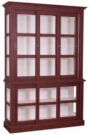 casa padrino country style display cabinet antique bordeaux white 151 x 47 x h 220 cm living room cabinet with 6 sliding doors