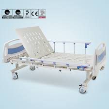 Medical equipment one crank manual mechanical hospital beds