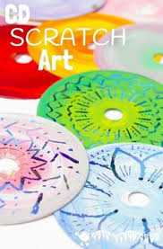 CD SCRATCH ART