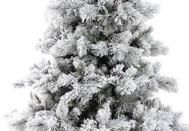 75 Flocked Christmas Tree by 6ft Nordic Pine Glittery Flocked Artificial Christmas Tree Hayes