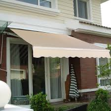 Amazon.com : Goplus® Manual Patio 8.2'×6.5' Retractable Deck ... Outdoor Marvelous Retractable Awning Patio Covers For Decks All About Gutters Deck Awnings Carports Rv Shed Shop Awnings Sun Deck A Co Roof Mount Canopy Diy Home Depot Ideas Lawrahetcom For Your And American Sucreens Decor Cozy With Shade Pergola Design Magnificent Build Pergola On Sloped Shield From The Elements A 12 X 10 Sunsetter Motorized Ers Shading San Jose