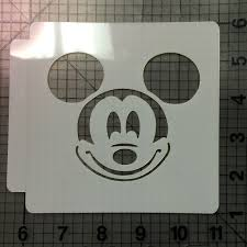 Mickey Mouse Halloween Stencil by Disney Stencils Jb Cookie Cutters
