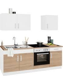 held möbel küchenzeile gera mit e geräten breite 210 cm kaufen otto