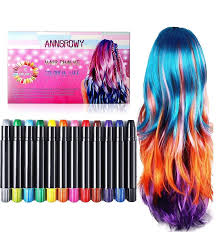 Hair Chalk For Kids Girls Face Paint Temporary Hair Chalks Colour ...
