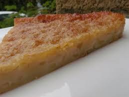 gâteau breton pomme poire la taverne de ginia