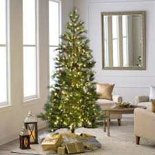 Vickerman 75 Redmond Spruce Artificial Christmas Tree With 350 Warm White LED Lights