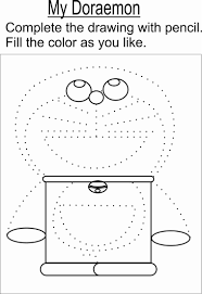 Doraemon Coloring Page Printable For Kids
