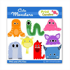 Monsters In Clothing Clipart