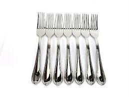 7 dinner forks villeroy boch mademoiselle 18 10 stainless indonesia 8 1 8 ebay