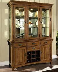 Precious Dining Room Hutches Buffets Craftsman Hutch Buffet Table Medium Brown Oak Decorate