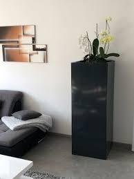 pflanzkübel blumenkübel gerade 49x49 cm versch höhen lackiert