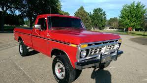 100 1975 Ford Truck For Sale FORD F250 RANGER 4X4 XLT ORIGINAL RESTORED HIGHBOY 4X4 LOW