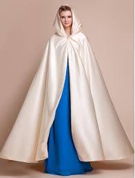 2017 elegant champagne wedding cloaks hooded long women formal