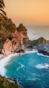 Mcway Pacific Ocean 5k 4k Wallpaper Big Sur California Beach