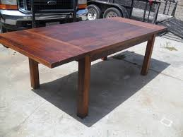 Charming Decoration Dining Table Made In Usa Reclaimed Wood Pine Extension USA Farmhouse