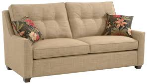 Braxton Culler 745 Stationary Cambridge Sofa with Button Tufted