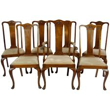 Queen Anne Chair Queen Anne Dining Chairs Ebay – 30doc.info Antique Walnut Chairs Queen Anne 7 Ding Scotland Style Wing Chair Frame English Pair Of Mahogany Crook Armchairs Century Rocking For Master Small Armless Bean Seat Replacement And Painted Finish Style Carver Chair Dark Blue Shabby Chic Rustic Fniture Room Design What Is How Do You Spot It Splat Back W Cream Loveseat Edwardian Mahogany Desk Hingstons Antiques Dealers Legs Set Desk