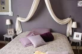 chambre mauve et le lit chambre mauve photo 1 3 lit avec simili baldaquin