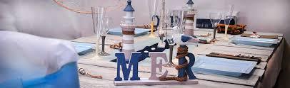 decoration theme mer pour mariage ou anniversaire