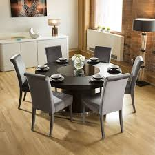 Large Round Black Oak Dining Table + 6 High Back Velvet Grey Chairs Sonoma Road Round Table With 4 Chairs Treviso 150cm Blake 3pc Dinette Set W By Sunset Trading Co At Rotmans C1854d X Chairs Lifestyle Fniture Fair North Carolina Brera Round Ding Table How To Find The Right Modern For Your Sistus Royaloak Coco Ding With Walnut Contempo Enka Budge Neverwet Hillside Medium Black And Tan Combo Cover C1860p Industrial Sam Levitz Bermex Pedestal Arch Weathered Oak Six