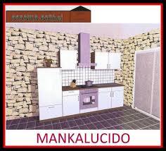küchenzeile mankalucido 1 küche 270 cm hochglanz weiss sonoma mit geräte
