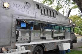 In Columbus Ohio Pupusa Rare Flower Food Truck Taco S Outdoor Scene Sunday