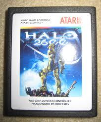 Halloween Atari 2600 Reproduction by The Game Critic U0027s Halo Paraphernalia