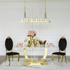 stuhl edelstahl gold für esszimmer schwarz velours