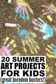 Kid Art Projects For Summer Kindergarten